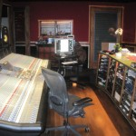 Wyman Records Control Room