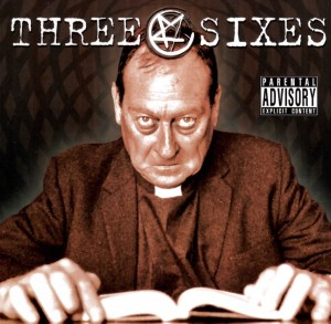 Three Sixes self titled CD cover